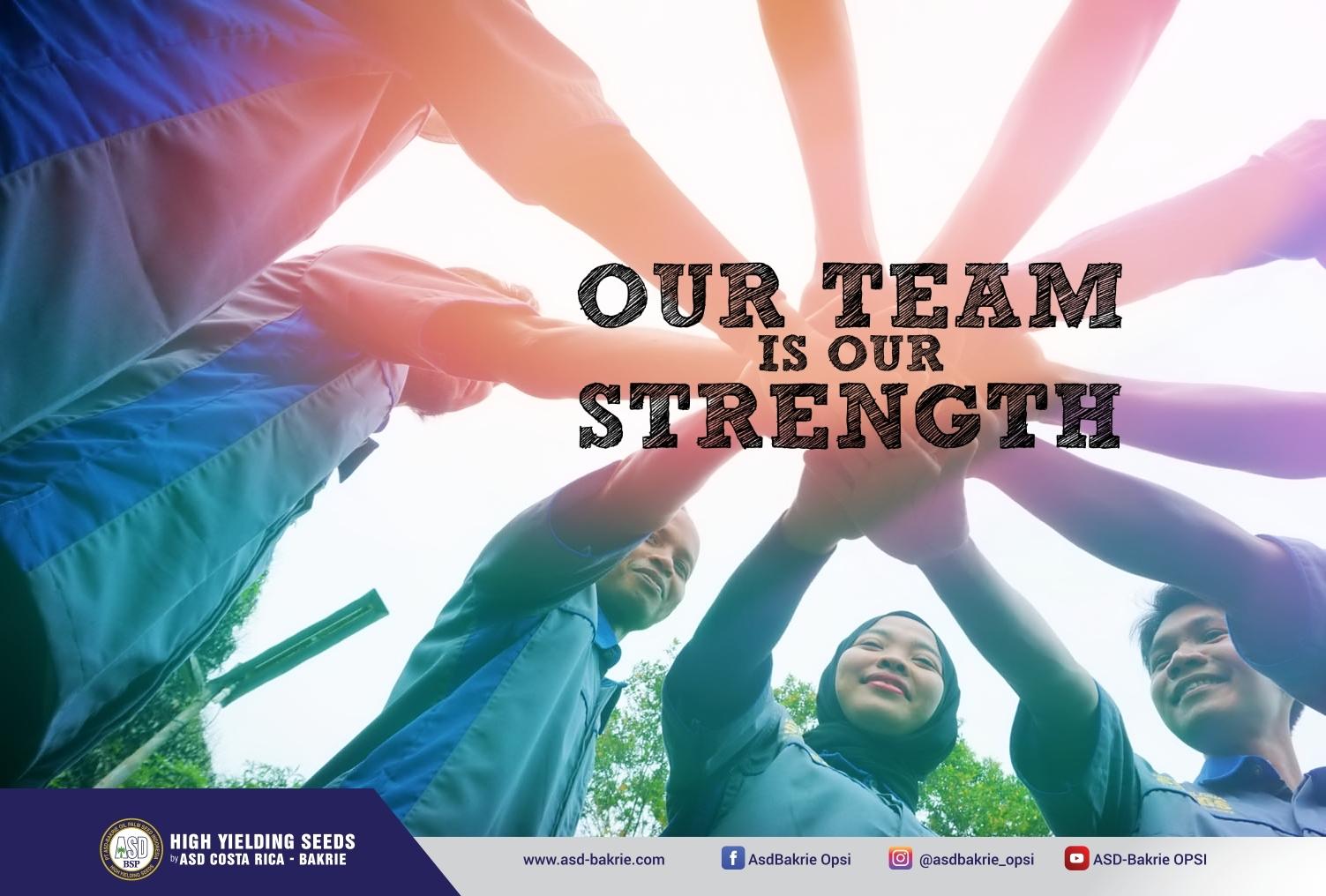 Team Sales dan Marketing kantor Seed Garden - Kisaran, Sumatera Utara